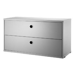 Chest of Drawers Grey