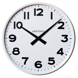 Wall Clock White 42cm