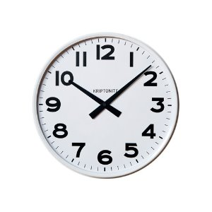 Wall Clock White 25cm