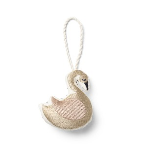 CPH Embroidered Ornament Swan