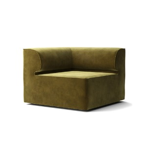Eave Modular Sofa 86 Coner City Velvet Yellow Khaki