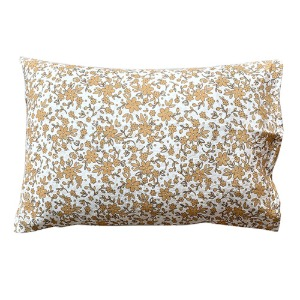 Pillowcase 50x70cm Mustard Flower