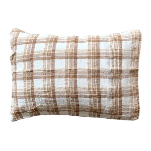 Pillowcase 50x70cm Caramel Checks