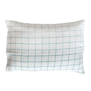 Pillowcase 50x70cm Green Checks