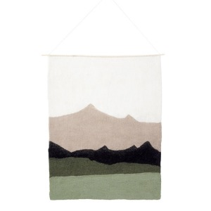 Landscape Wall Hanging Tender Green
