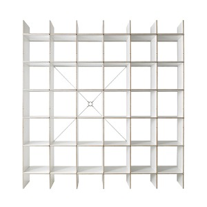 FNP Shelf System White 5x6  전화문의