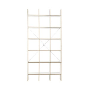 FNP Shelf System White 5x3