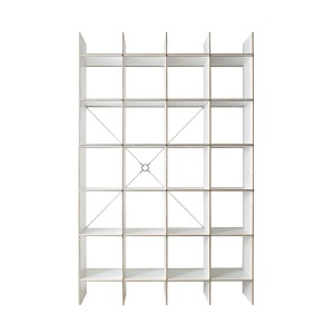 FNP Shelf System White 5x4