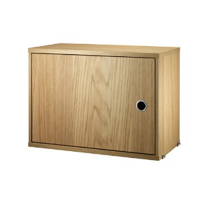 Cabinet with Swing Door Oak