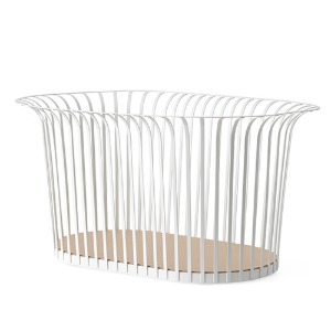 Ribbon Basket Ivory