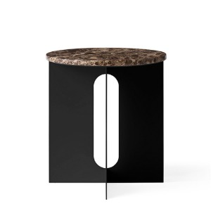Androgyne Side Table Emparador Marble Top