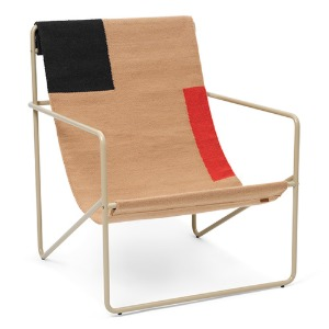 Desert Lounge Chair Cashmere/Block