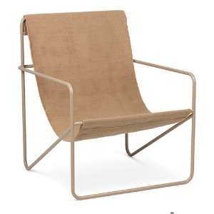 Desert Lounge Chair Cashmere/Sand