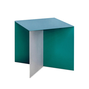 Alu Square Top Hammerpaint Blue
