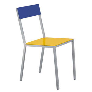 Alu Chair Yellow/Candy Blue