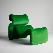 Etcetera Lounge Chair Grass Green