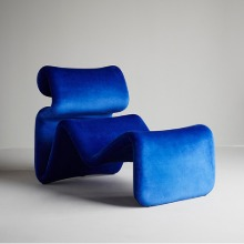 Etcetera Lounge Chair Klein Blue
