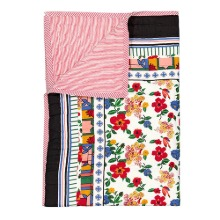 Reversible Quilted Bed Cover Hibiscus Sarong 150x220cm